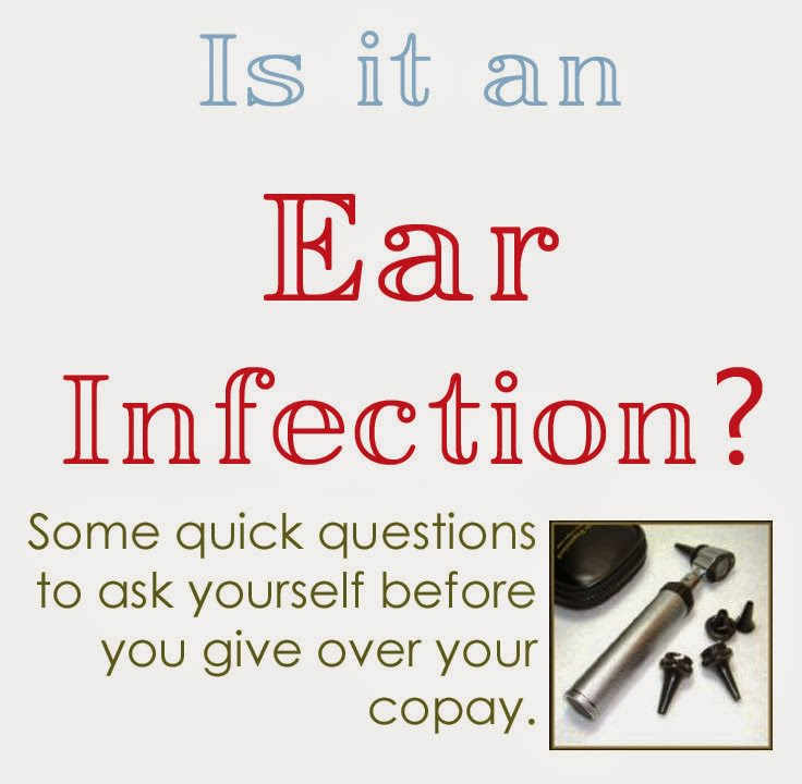 Is it an ear infection? Here are some handy tips to decide if you should head to the doctor or not.
