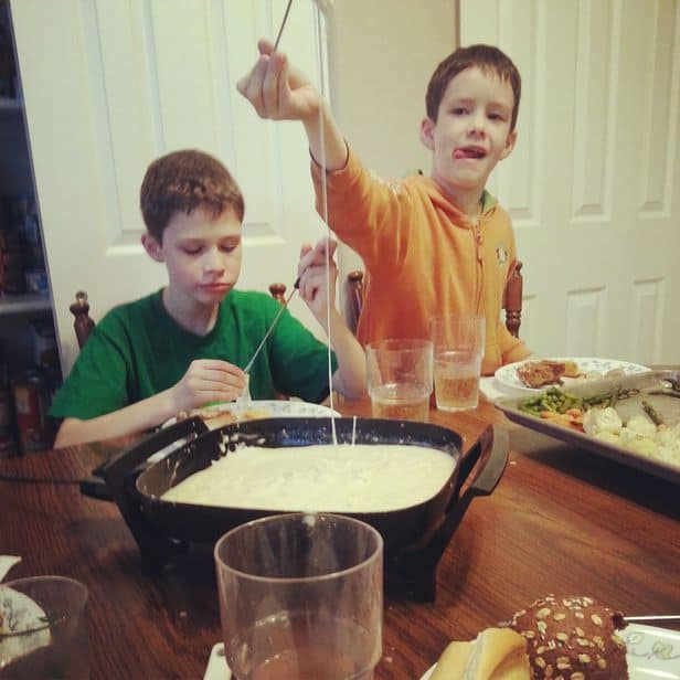Cheese Fondue Recipe For A Night Of Family Fun